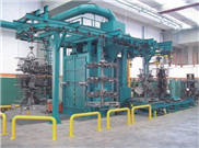 專業懸鏈式拋丸清理機,專業生產懸掛式拋丸機,廠家直銷懸鏈式拋丸清理流水線