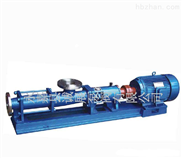诚展化工泵:G型不锈钢单螺杆式化工泵