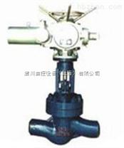 J961H电动焊接截止阀  盾川