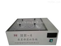 四孔雙列數顯恒溫水浴鍋HH-4
