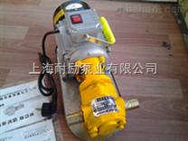 小功率齿轮油泵 耐励单相手提式齿轮泵