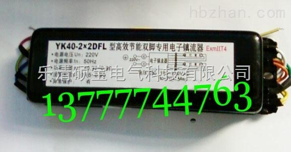 YK40-2x2DFL型高效节能双脚防爆电子镇流器