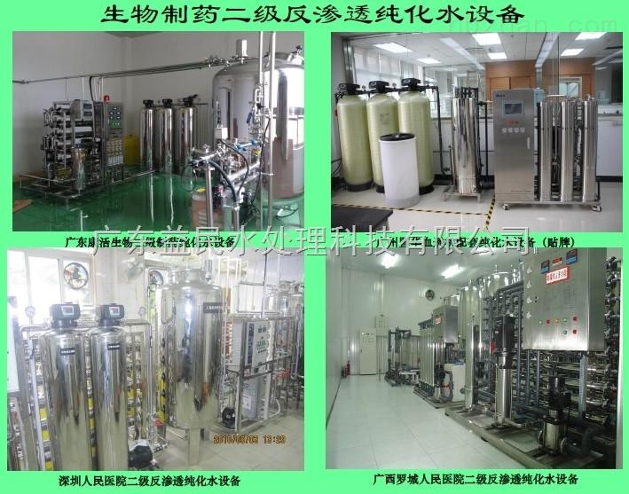 贵阳生物制药厂双级反渗透纯水设施系统