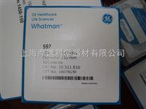 Whatman定性滤纸10311810,Grade 597,圆片,110mm,100张/包