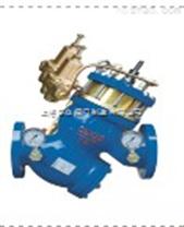 過濾活塞式可調減壓/流量控製閥