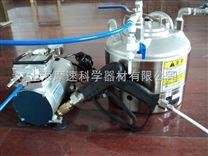 日本产5L压力罐加国产喷枪 加压泵清洁度检测制样专用