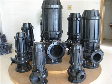 QW、WQ型带自动耦合式潜水污水泵/潜污泵/耦合装置)