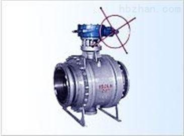 q(9)347f/y 蜗轮传动浮动四氟密封球阀上海良工阀门图片