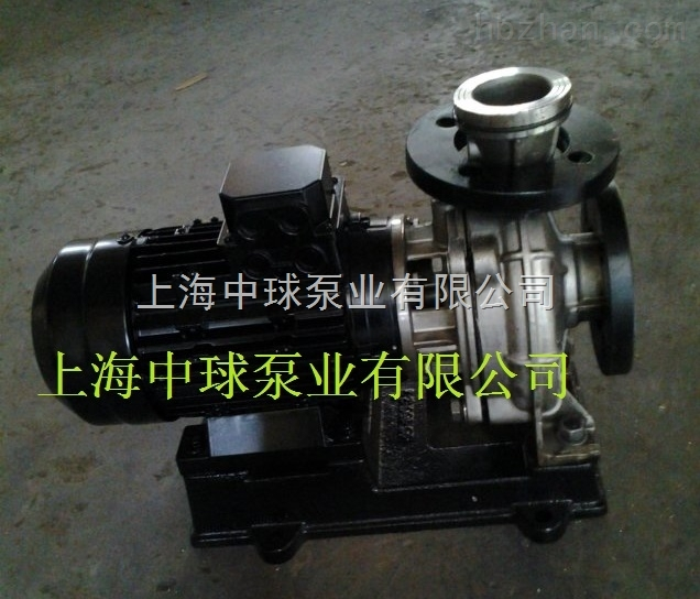 ISWH50-160不锈钢管道离心泵