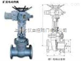Z9B41H-25C调整防爆电动闸阀