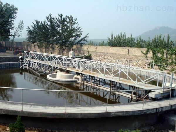 全桥式刮泥机工艺流程