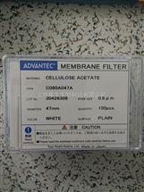 advantec代理ADVANTEC醋酸纤维素过滤膜C080A047A