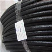 黑色硅树脂纤维管 黑色玻纤管