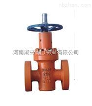 高压带导流型油田平板闸阀
