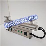 直銷管道式紫外線殺菌器,溫州優誠小區二次供水用消毒。加工定製