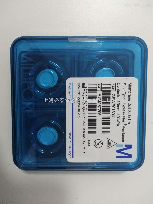 默克密理博PES膜孔径0.22um滤膜GPWP01300