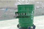 小区铁质垃圾桶批发
