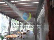 景区降温丨玻璃房顶降温工程