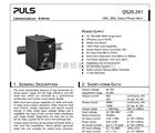 SLR10.100德國PULS普爾世PISA11.410財源更比流水長