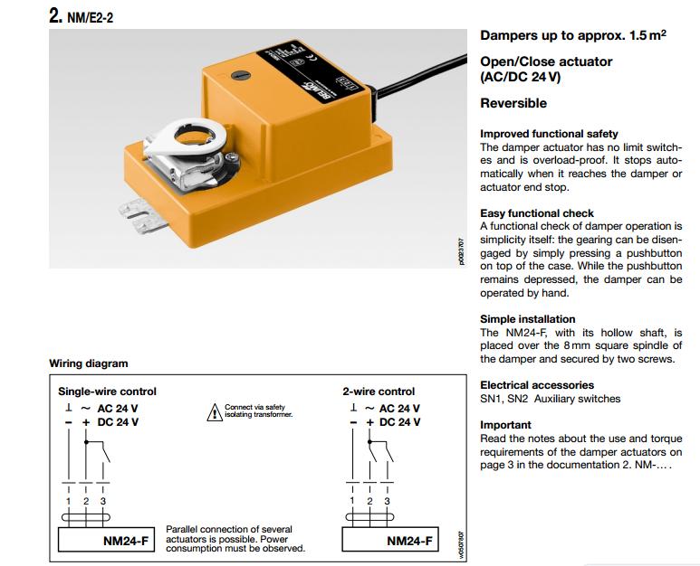 瑞士 belimo 搏力谋 风阀执行器 nm24 原装进口 扭矩8nm 相关产品分类图片