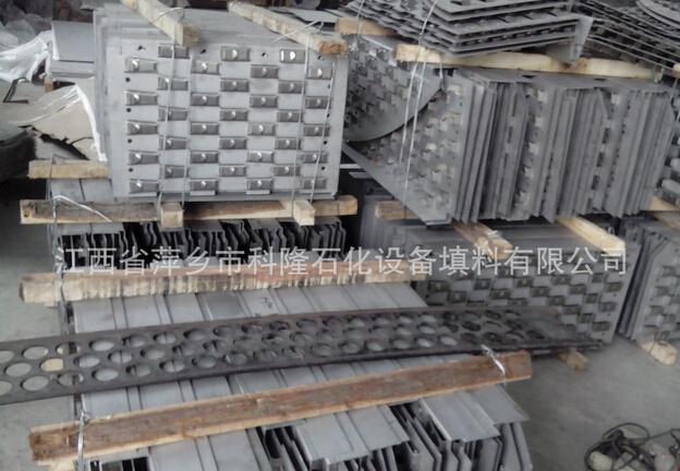 不锈钢条形浮阀塔盘生产厂家浮阀塔板图片
