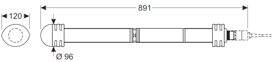 德国WTW CarboVis 705 IQ在线COD,BOD,TOC,SAC,TSS检测仪,传感器 多参数测量 最新光谱传感器可提供碳多参数测量 • 最多5个碳参数可以同时测量、显示和传输, COD total/ COD soluble/ TOC/ BOD/ DOC/ SAC/ SAC soluble/ UVT254中八选五 • 增加254nm穿透率测量(UVT254) • COD溶解性算法可用于WWTP曝气池中的应用(如反硝化/甲醇控制) 德国WTW CarboVis 7