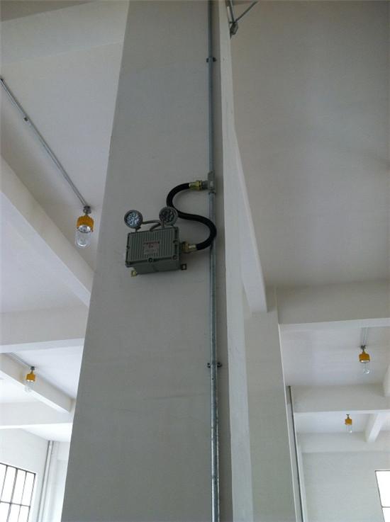 36v防爆应急灯内部接线,挂式安装参考图