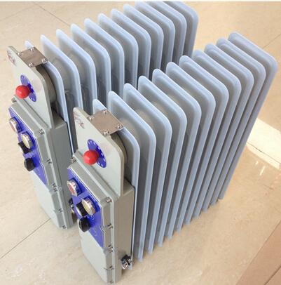 3,装有温控器,可控制调节温度. 4, 直销新疆防爆油汀电暖气电缆布线.