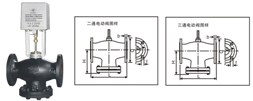 VB-7200比例積分電動二通閥