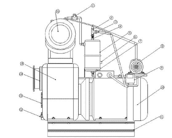 节能水泵结构图