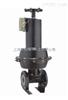 EG6B41J英标常闭式气动衬胶隔膜阀 上海沪工阀门 品质保证