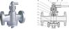 X347F美标压力平衡式倒装油密封旋塞阀